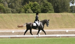Danielle Fredericks and BHM Silver Jaguar