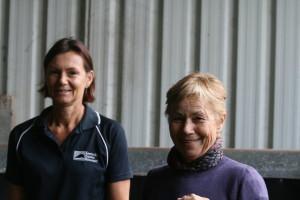 Robyn Targa and Jane Bruce