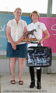 Major Sponsors Saddleworld Nowra and Jen Ahling